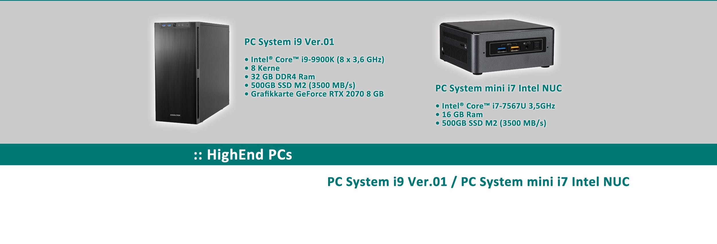 HighEnd PCs