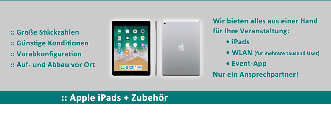 iPad Verleih
